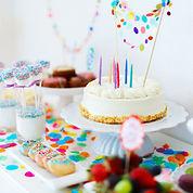 coloré fête d'anniversaire