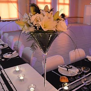 Anniversaire de mariage noir et blanc