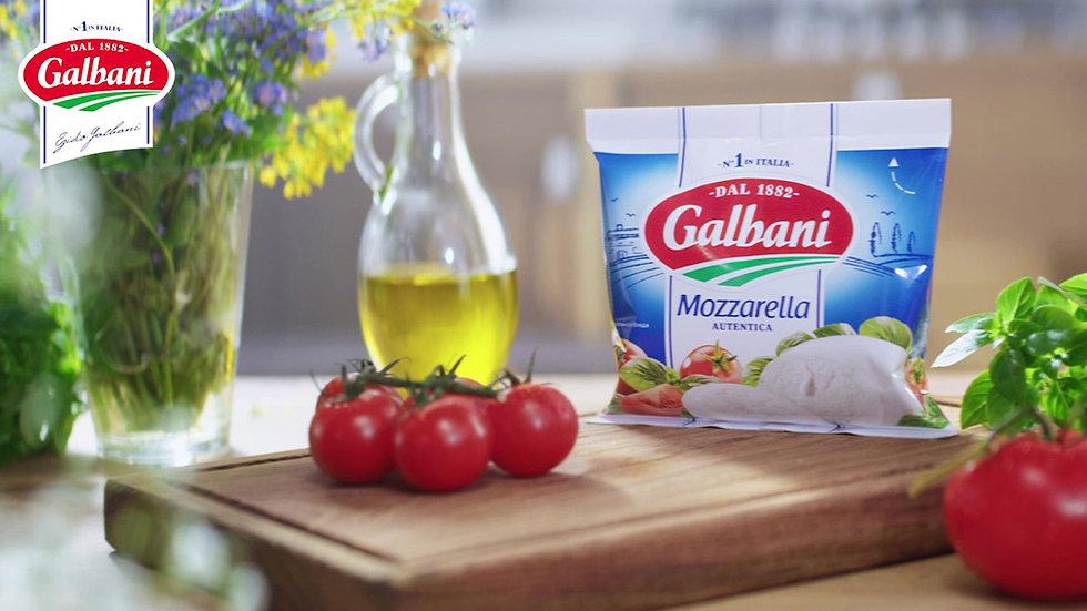 Продакшн видеороликлв для Galbani