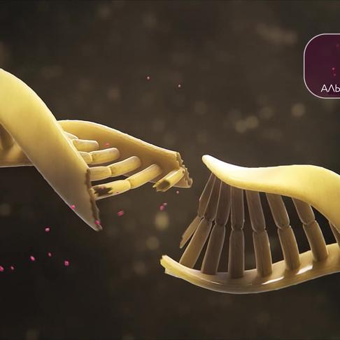 Анимационный видеоролик о препарате Xofigo Bayer