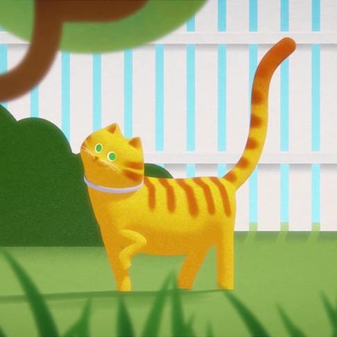Ошейник Форесто (Bayer) для кошек. Анимационный ролик