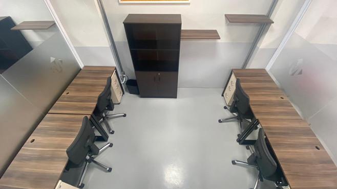 Sala privativa 4 posições