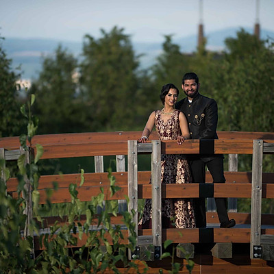 Karen & Omesh | Prince George BC Canada