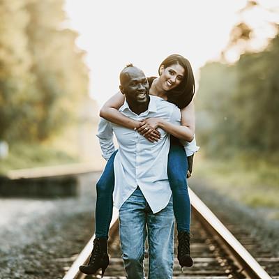 Bernard & Rhiana |Engagement Session|