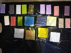 Inked Collagraph Plates