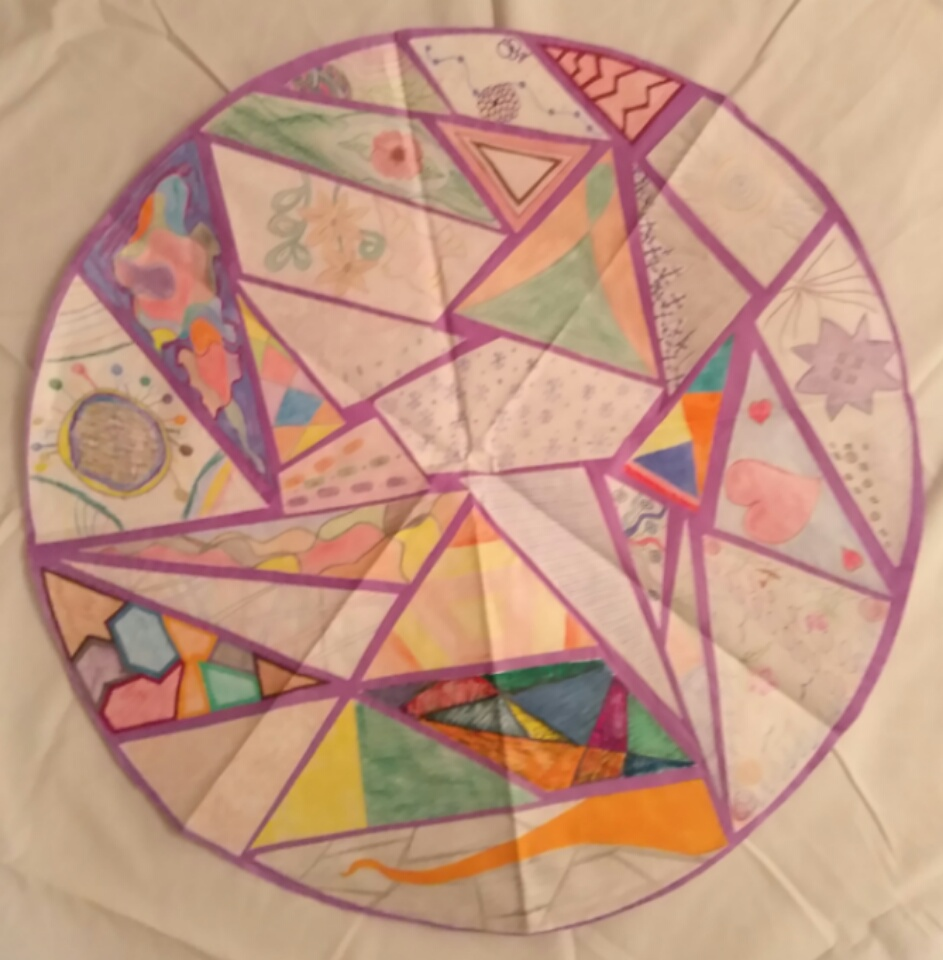 Prison Art Program: Group Mandala