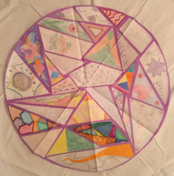 Prison Art Program: Group Mandala