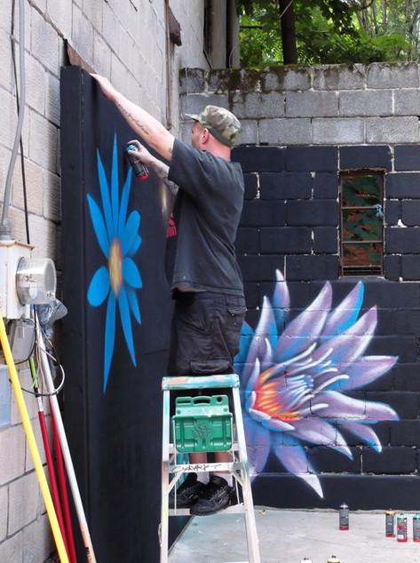 Brandon Spray Painting