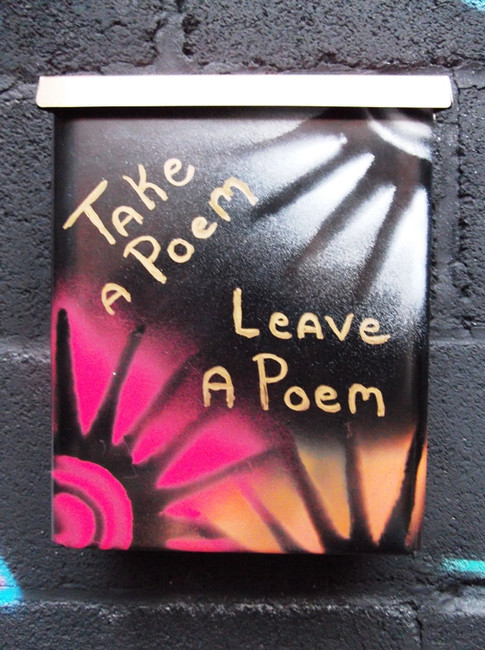 Take a Poem, Leave a Poem Box