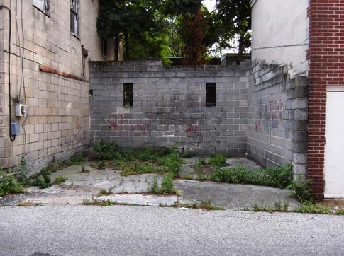 Poetry Garden Before