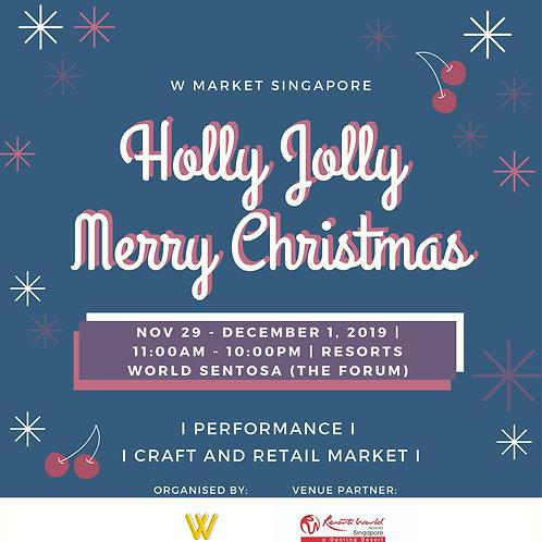 Holly Jolly Merry Christmas (RWS)