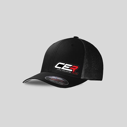 CER Black Mesh Flex Fit Hat