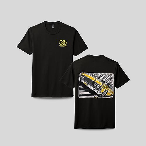 NAPA Yellow 50th Anniversary Shirt