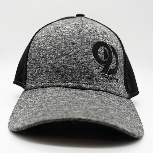 Dark-Grey Fitted Hat