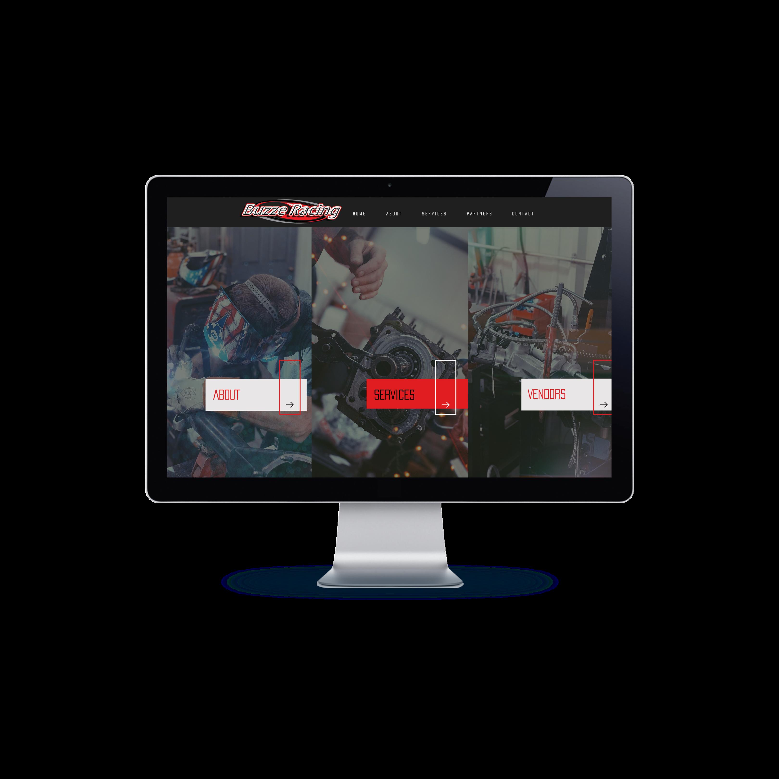 Buzze racing website