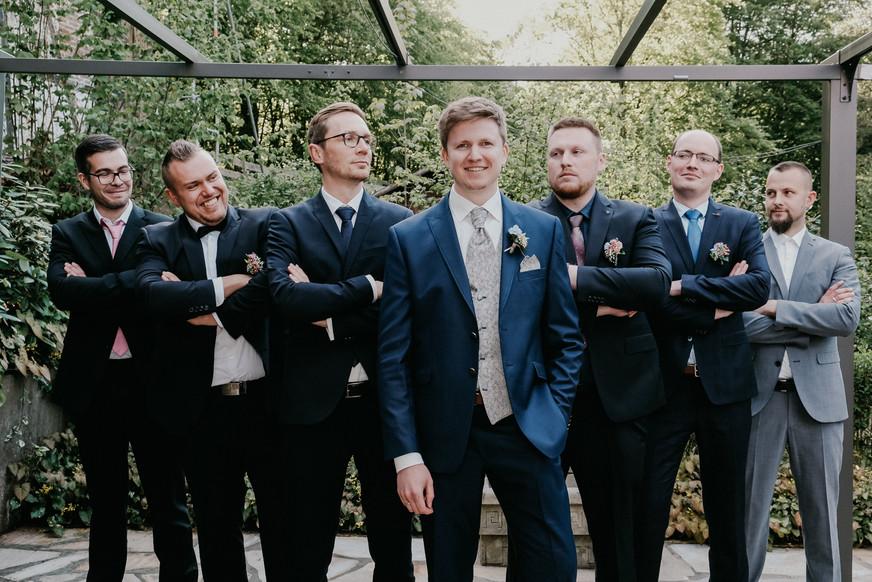 Groom and his best men - SoulMade Fotodesign