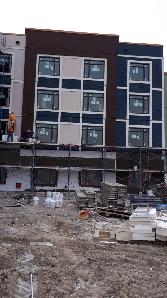 EIFS System Senior Housing Calgary