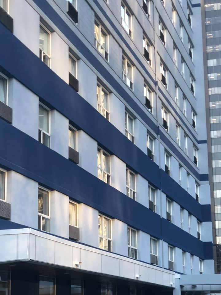 EIFS System at Regency Hotel Calgary
