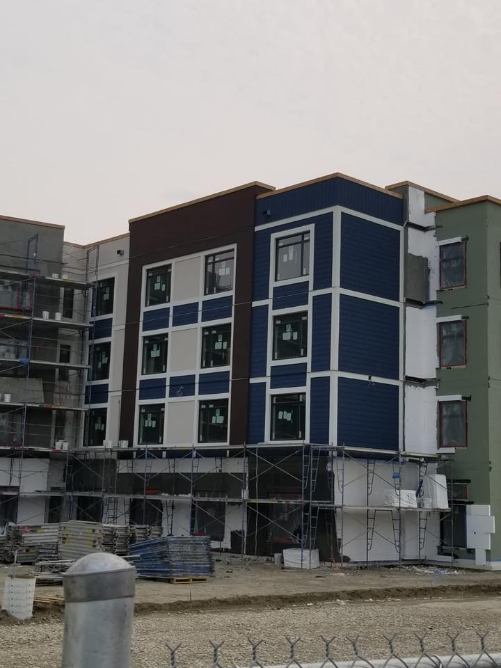 EIFS System for Senior Housing