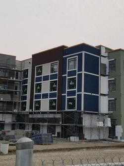 EIFS System for Senior Housing