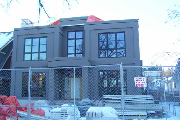 EIFS System at Custom home fore Heritage Custom Builder