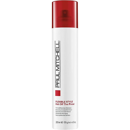 Paul Mitchell  Flexible Style Hot Off The Press Thermal Protection Hairspray 6oz