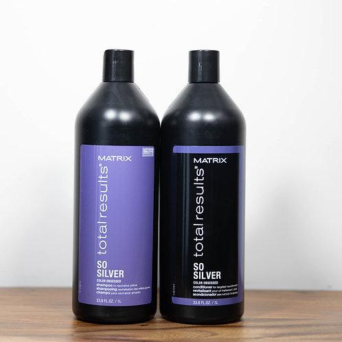 Matrix So Silver Shampoo & Conditioner For Blonde & Silver Hair