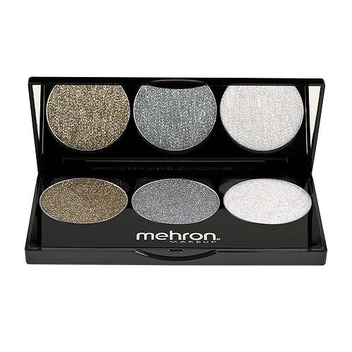 Mehron Makeup Pressed Glitter Palette
