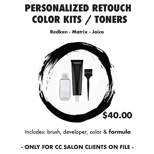 Personalized Retouch Kit