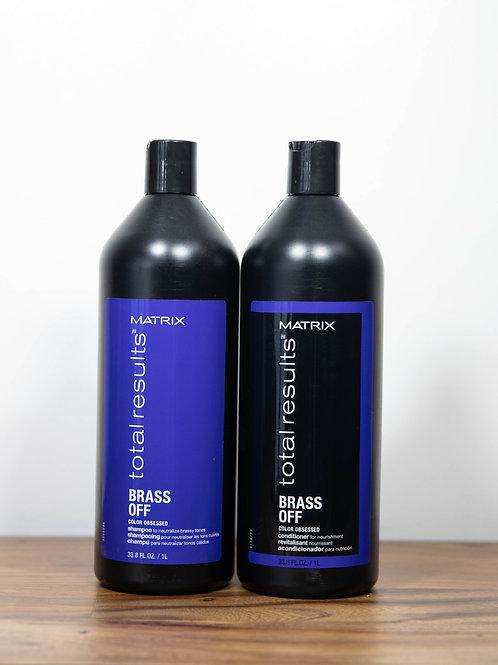 Matrix Brass Off Shampoo & Conditioner