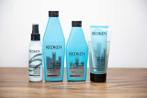 Redken High Rise Volume Shampoo/ Conditioner, Volumizer & Beach Envy