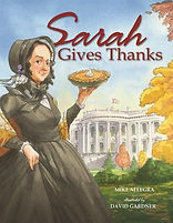 Sarah Gives Thanks Thansgiving Picture Book