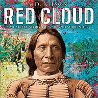 books about native american history for kids, books about red cloud, native american biogrpahies for children, american history for elementary