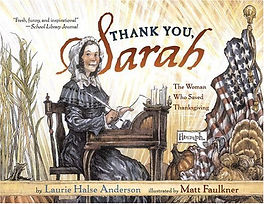 Thank You Sarah Thanksgiving history