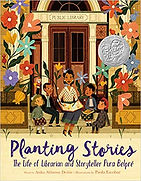 planting stories book, pura belpre books, puerto rican writers for kids,