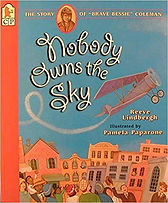 Books about aviation for kids, Famous aviators, Bessie Coleman, African American pilots