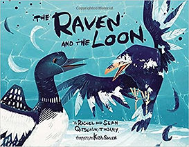 Pan-arctic folktales, Subarctic folktales, The Raven and the Loon,
