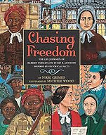books about slavery for kids, harriet tubman, susan b. anthony, suffrage movement, abolitionists