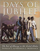 Days of Jubilee, Books about slavery in the U.S. for kids, books about the U.S. Civil War for kids,