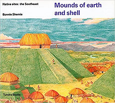 Mounds of earth and shell, Cahokia, picture books about ancient Native Americans