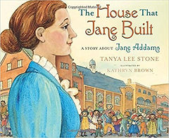 Books about Jane Addams for kids, books about te Nobel Peace prize for kids