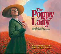 Books about World War 1 for kids, Moina Belle Michael, Red Poppies fo veterans