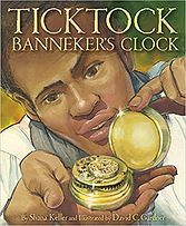 Books about Benjamin Banneker for kids. 18th Century scientists,