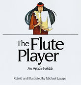 apache folktale, the flute player, native american legends