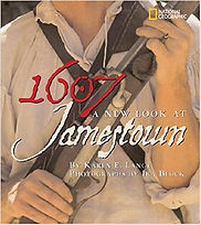1607 A New Look at Jamestown, Books about Jamestown, Read about Jamestown