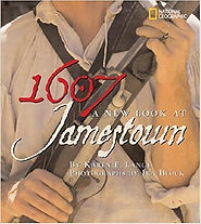 1607 A New Look at Jamestown, Books about Jamestown, Jamestown