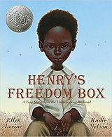 Books about Henry Brown for kids, Henrys freedom box