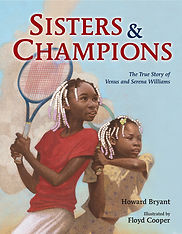 Venus Serena Williams. 20th century athletes,books about tennis for kids