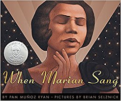 when marian sang childrens book abot civil rights movement marian anderson