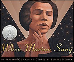 when marian sang marian anderson childrens book